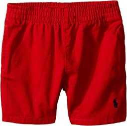 Ralph Lauren Baby Twill Sport Shorts (Infant)