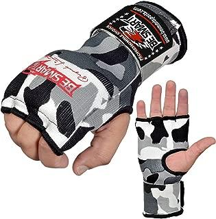 BeSMART Vendaje de Manos para Boxeo Boxeo Guantes Interiores Guantes MMA algod/ón par Verde Camuflaje Entrega Gratuita Reino Unido