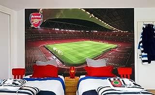Official Arsenal Football Club Emirates Stadium Full Wall Mural Sticker Decal Vinyl Poster Print (2m Height x 2m Width)
