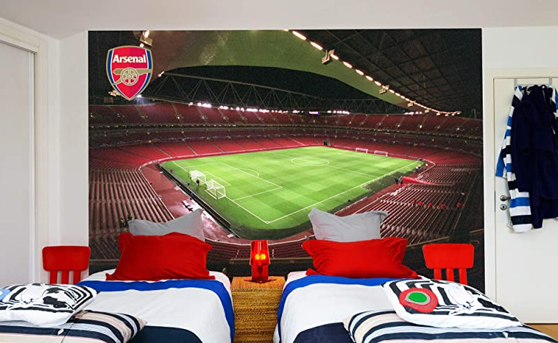 Official Arsenal Football Club Emirates Stadium Full Wall Mural Sticker Decal Vinyl Poster Print 2 5m Height X 2m Width