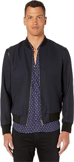 e34d2f389c The Kooples. Peony Garden Print Midi Dress. $348.00. Luxury. Navy