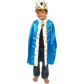 Lucy Locket - Disfraz de Rey - Capa y Corona - 3-8 años: Amazon.es ...