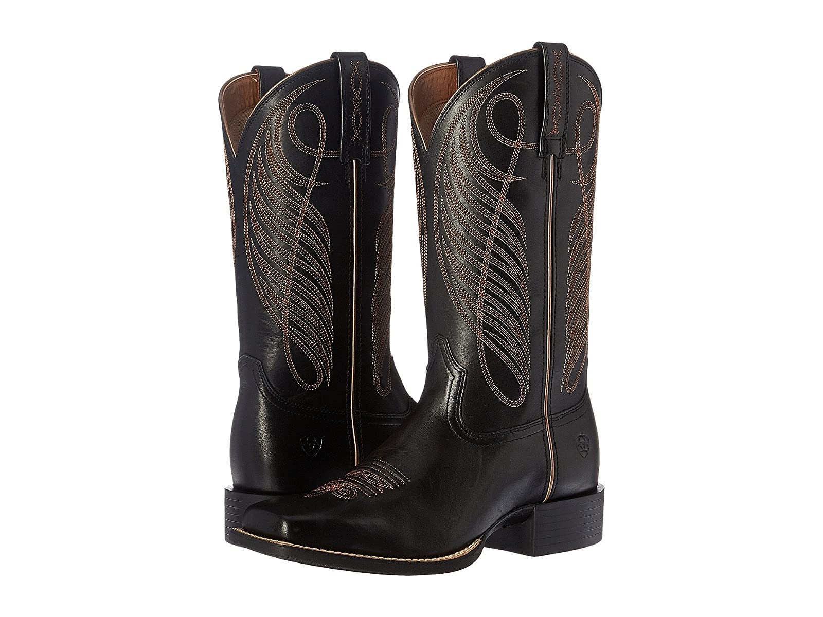 Ariat Round Up Wide SquareSelling fashionable and eye-catching shoes