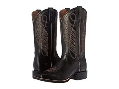 Ariat Round Up Wide Square Toe Cowboy Boots