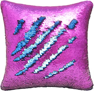 two way sequin cushion