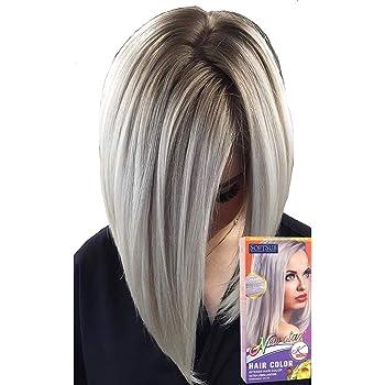 Tinte para el cabello color blanco