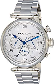 Akribos XXIV Men's AK764SS Grandiose Stainless Steel Bracelet Watch