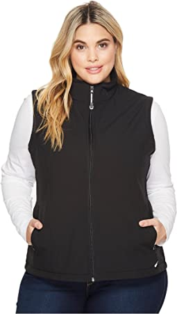 Roper - Plus Size 1321 Black Softshell Vest