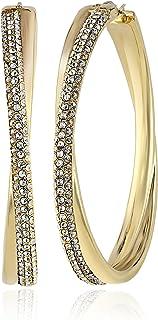 Michael Kor's Women's Stainless Steel Hoop Earrings