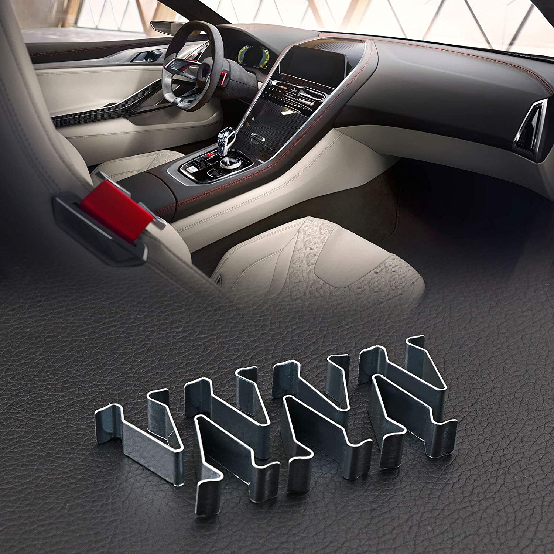 relleno de retenci/ón de clips de repuesto 20 pinzas de resorte para el interior del panel de 22 mm