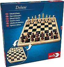 Noris 606104577 Deluxe Schach & Dame, Der Spiele Kla