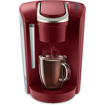 Keurig K-Select Coffee Maker, Single Serve K-Cup Pod Coffee Brewer, With Strength Control and Hot Water On Demand, Vintage Red