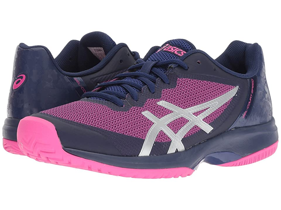 ASICS Gel-Court Speed (Blue Print/Pink Glo) Women