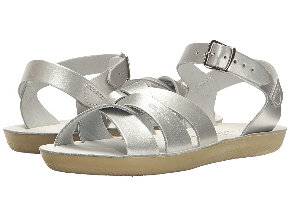 Salt Water Sandal by Hoy Shoes Swimmer (Toddler/Little Kid) (Silver) Girls Shoes