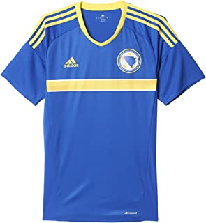adidas 2016-2017 Bosnia Herzegovina Home Football Soccer T-Shirt Jersey