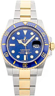 Rolex Submariner Mechanical (Automatic) Blue Dial Mens Watch 116613LB (Certified Pre-Owned)