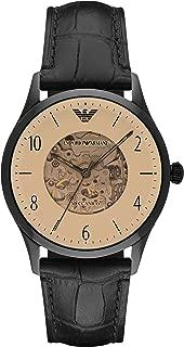 Emporio Armani Men's AR1923 Dress Black Leather Watch