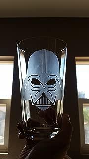 Darth Vader Star Wars Inspired Pint Glass