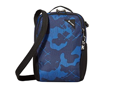 Pacsafe Vibe 200 Anti-Theft Compact Travel Bag (Blue Camo) Day Pack Bags