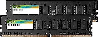 Silicon Power 16GB(2x8GB)-DDR4-2666MHz 288 Pin CL19 1.2V Non-ECC Unbuffered-UDIMM Desktop Memory - Compatible con Intel Skylake-X Platforms/Kaby Lake-X CPU Series Placas Base