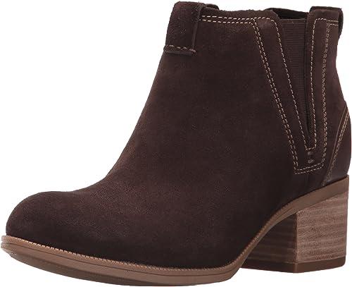 Clarks Femmes Couleur Marron Dark marron Taille 39.5 EU   8.5 Us