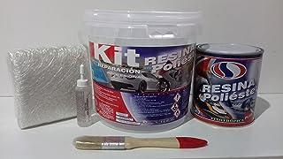 Plainsur Resina De Poliester Kit De 1 Kilogramo Cubo