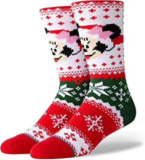 Stance Disney Claus Christmas Crew Sock Casual