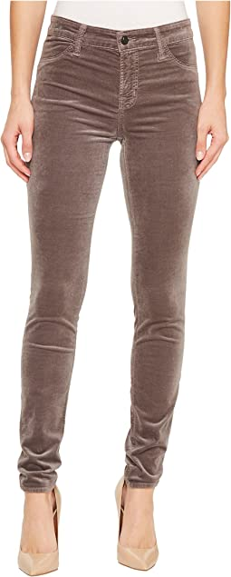 J Brand - 815 Mid-Rise Super Skinny in Dark Filly