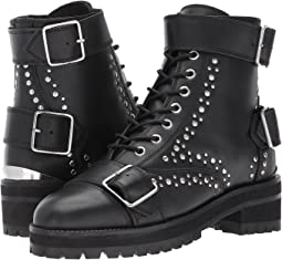 The Kooples - Leather Boots with Studs