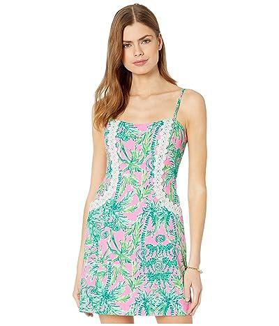 Lilly Pulitzer Shelli Stretch Dress (Prosecco Pink Hangin Around) Women