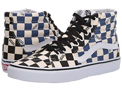 Vans SK8-Hitm ((Big Check) Black/Navy) Skate Shoes