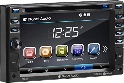 Planet Audio P9640B Double Din, Touchscreen, Bluetooth, DVD/CD/MP3/