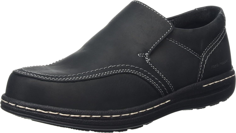 Hush Puppies Mens Vindo Victory Formal Slip On shoes Black Size UK 12 EU 47
