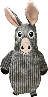 Tender-Tuffs You Fill Donkey Dog Comfort Toy - Dual Purpose Dog Crinkle Toy or Dog Water Bottle Toy