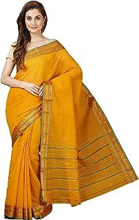 Pavecha's Women's Venkatagiri Cotton Saree With Blouse Piece