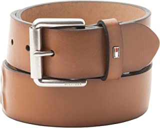 Men's Bridle Belt with Raised Hilfiger Logo
