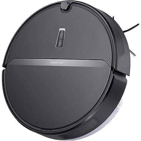 Roborock E4 Saug- und Wischroboter (Saugleistung 2000Pa, 180min Akkulaufzeit, 640ml Staubbehälter, 180ml Wassertank, 69dB Lautstärke, Gyroskopen-Sensoren-Routensystem, App-/Sprachsteuerung) Schwarz
