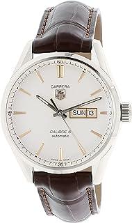 TAG Heuer Men's WAR201D.FC6291 Carrera Analog Display Swiss Automatic Brown Watch