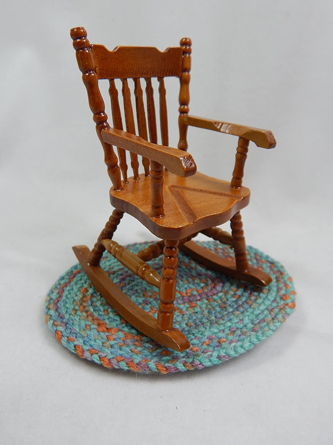 Doll House Miniature 3 x 4 Rocker Rocking Chair  Z213C
