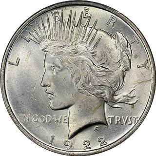 1922-1935 Peace Dollar BU $1 Brilliant Uncirculated