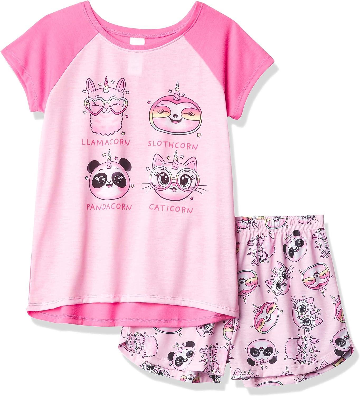 The Children's Place Girls' Cornimals Two Piece Pajama Set