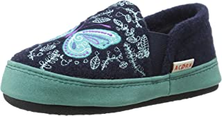 Girls' Colby Gore Moc-K, Navy Butterfly, 8-9 M US Toddler