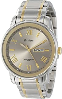 Armitron Men's 20/4935 Day/Date Function Dial Bracelet Watch