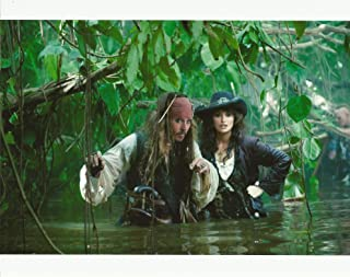 Johnny Depp & Penélope Cruz Pirates of the Caribbean On Strange Tides 8x10 Movie Photo in the water
