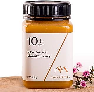 Three Peaks Manuka Honey New Zealand - Certified UMF 10+ / MGO 263+ - 17.6 oz (500gm) - 100% Natural honey, Raw honey – Ul...