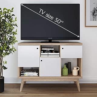 Best white mid century modern tv stand Reviews