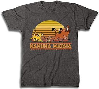 Lion King Throwback Mens Shirt - Hakuna Matata Graphic T-Shirt