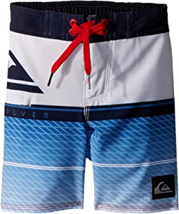 Quiksilver Kids - Highline Slab Boardshorts (Toddler/Little Kids)