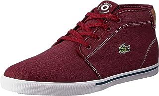 Lacoste Ampthill 118 1 Men's Fashion Shoes, RED/LT TAN