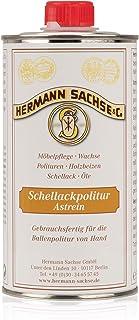 Hermann Sachse Schellackpolitur Blond Transparent 500ml Schellack Politur farblos Astrein Super Blond hell wachsfrei